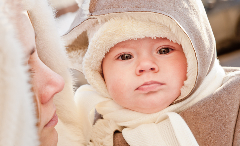 Гулять с новорождённым: когда, как и сколько?