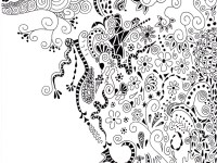 Дудлинг и зентангл – интересные техники рисования