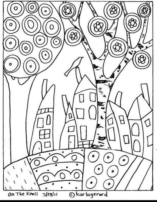 раскраски Карла Жерар 3