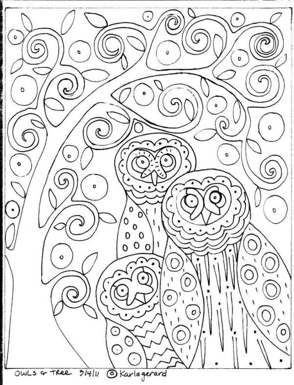 раскраски Карла Жерар 9