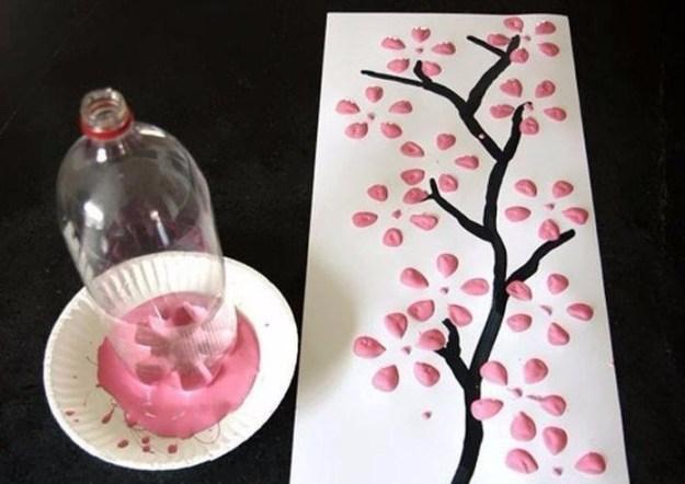 рисуем сакуру бутылкой1