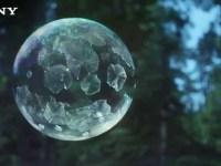Самая красивая реклама в этом году. Вы увидите, как замерзают мыльные пузыри.
