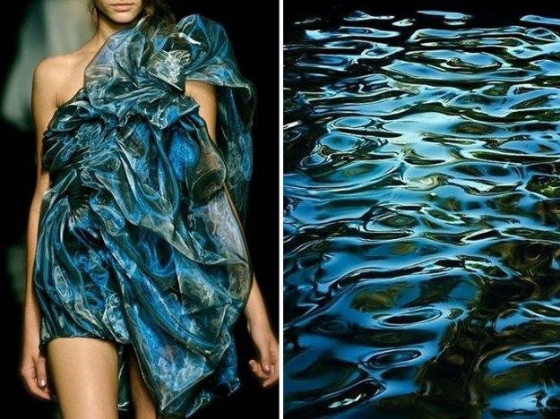 природа и платья