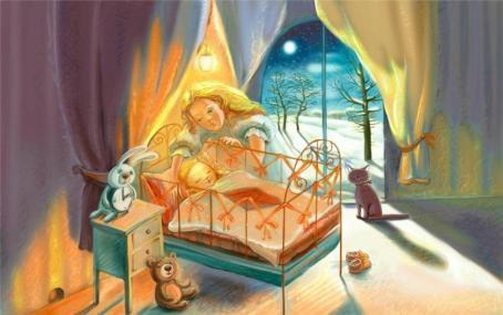 6 причин читать детям сказки перед сном