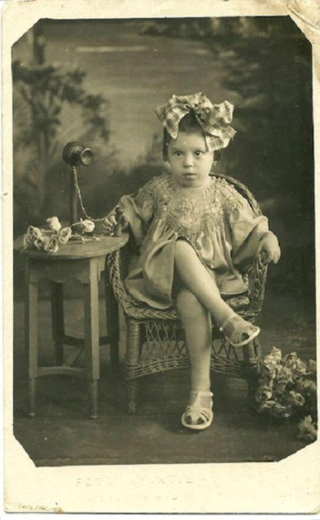 Первая фотосессия, 1938 год