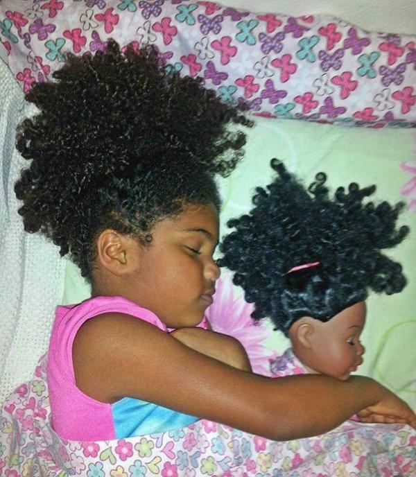 дети похожи на своих кукол