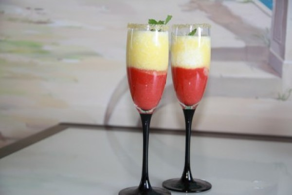 клубничный десерт 3