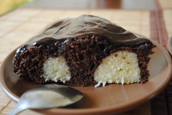 пирог творожно-шоколадный 1