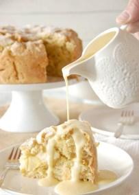Рецепт ирландского яблочного пирога с курдом