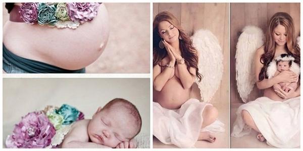 до и после беременности