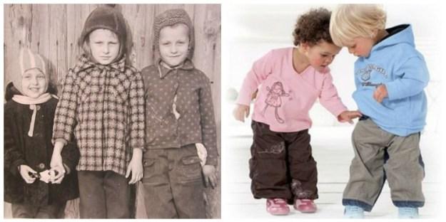 как изменилась детска мода