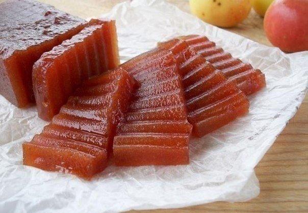 рецепт яблочного мармелада