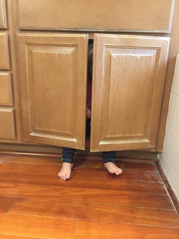 так надо прятаться