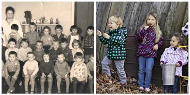 во что раньше одевались дети