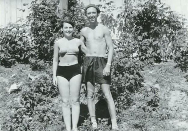 Юрий Никулин с женой в Уфе