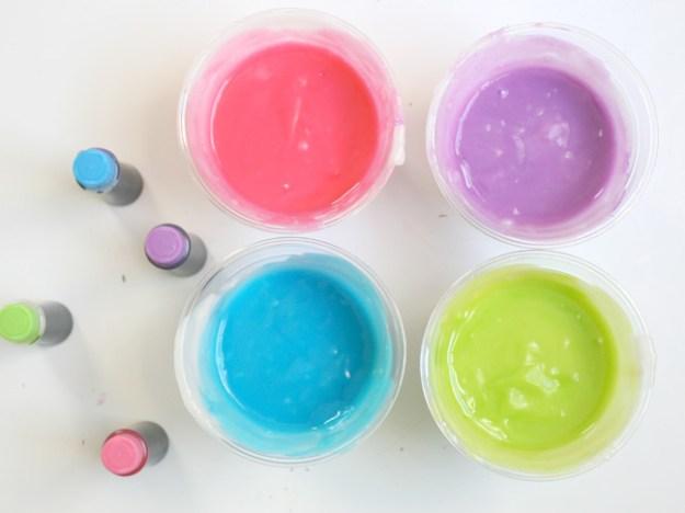 краски своими руками