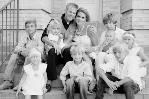 семья 8 детей