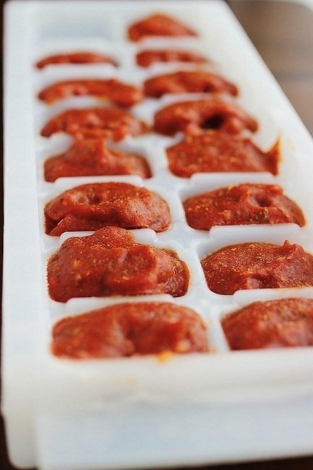 томатный соус замороженный