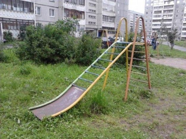 уникальные детские площадки