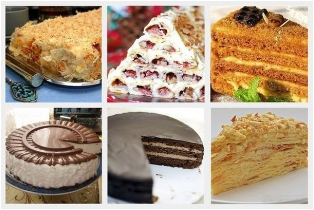 5 популярных тортов