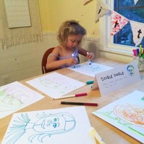 Эта уникальная техника рисования поможет ребенку развивать оба полушария мозга