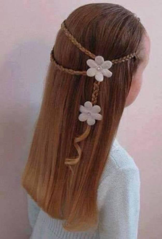 заплетаем девочке косу