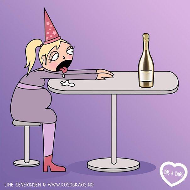 7 месяцев без шампанского...