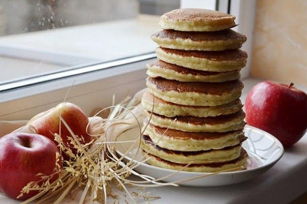 панкейки яблочные