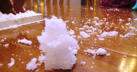 7 способов сделать искусственный снег в домашних условиях