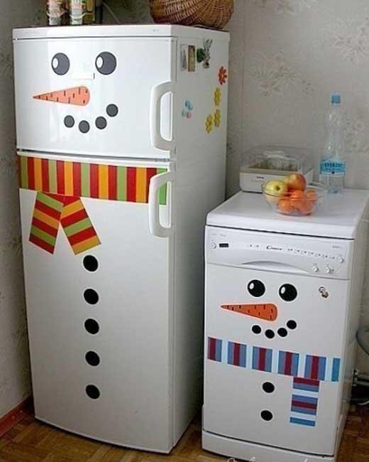 украсим холодильник