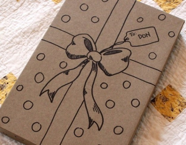 А можно даже просто нарисовать красивую упаковку