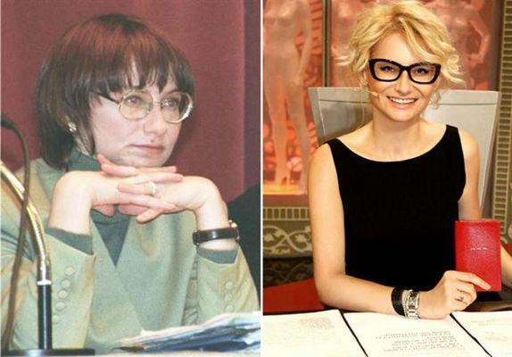 Эвелина Хромченко - наш отечественный пример того, что уход за собой, прическа и аккуратный макияж могут превратить даже гадкого утенка в лебедя