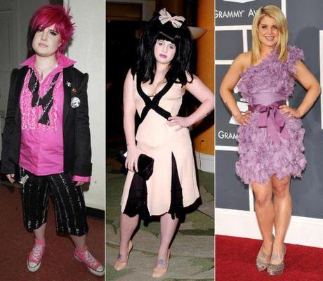 Келли Осборн прошла путь от нелепого подростка в клоунских костюмах до красивой женщины-дизайнера, которая выглядит неподражаемо