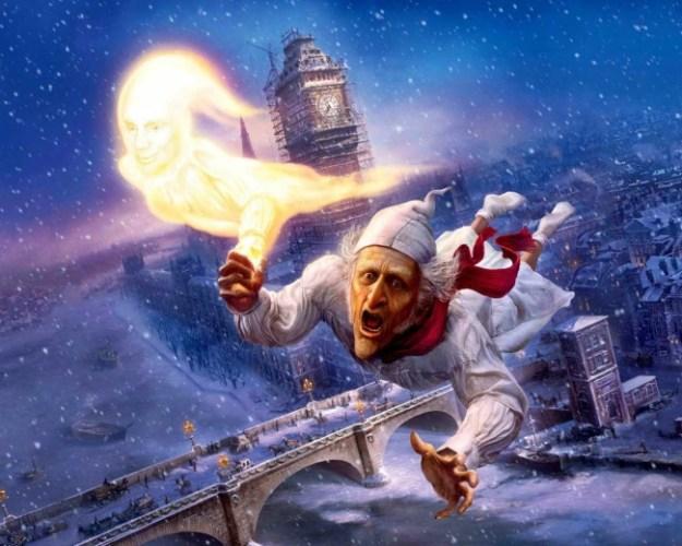 Рождественская история (США, 2009). Рождественская история (США, 2009). Красивейший мультфильм о скупом мистере Скрудже, которого придумал Ч. Диккенс. Этот мультик стоит посмотреть скорее взрослым, нежели детям. Очень красивый, сказочный и действительно рождественский мультик