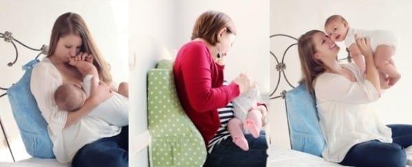 В первые месяцы после родов маме приходится много сидеть. Именно поэтому добрые люди придумали специальную подушку, которая сбережет спину и не даст ей заболеть