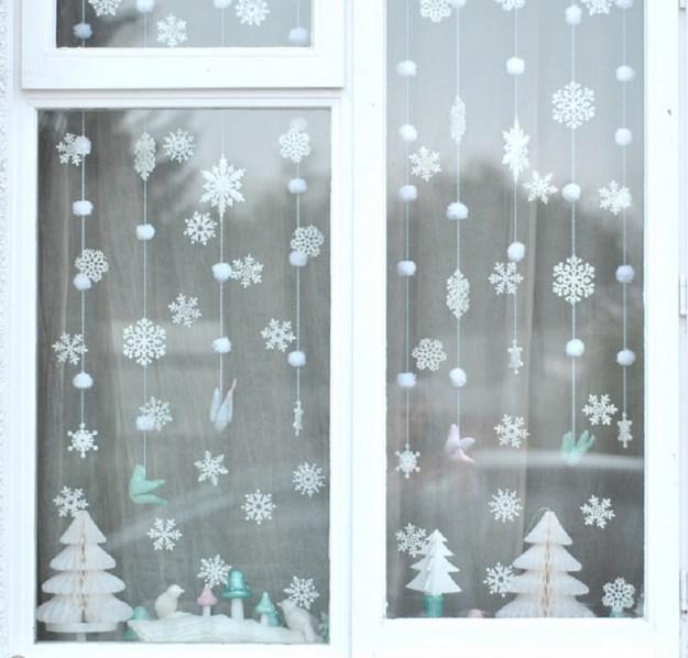 гирлянда из снежино3