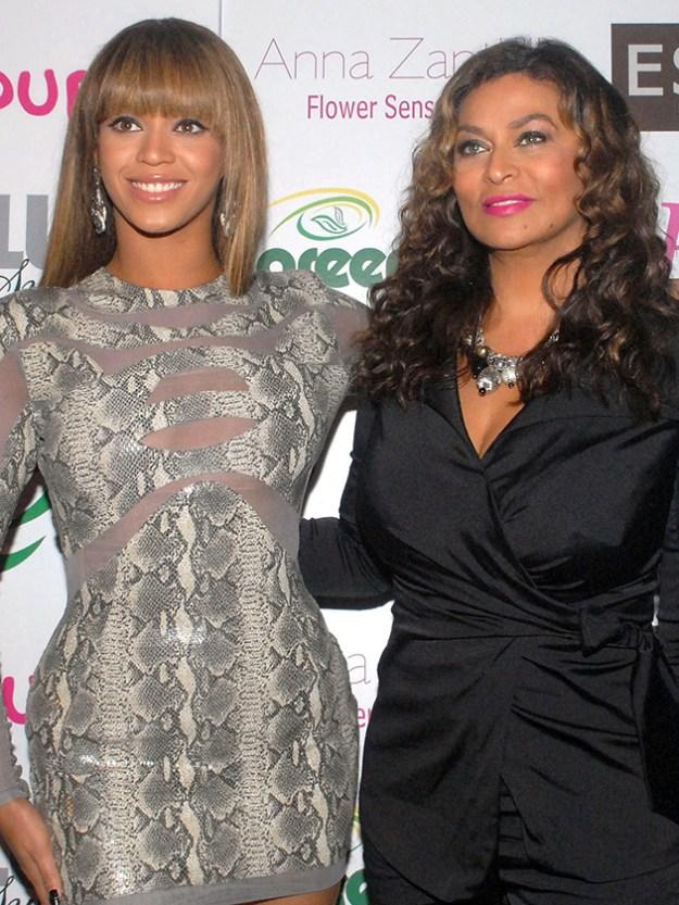 Красотка Бейонсе и мама Тина