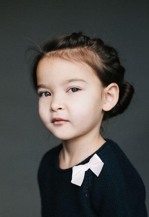 папа - кореец, мама - русская(украинка). Ева, 5 лет