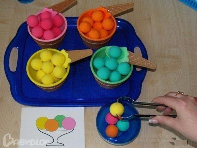 учим цвета играя