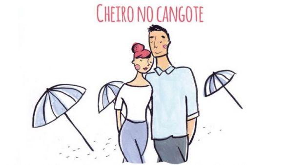 Португальский. Когда кончиком носа легко косаешься шеи любимого