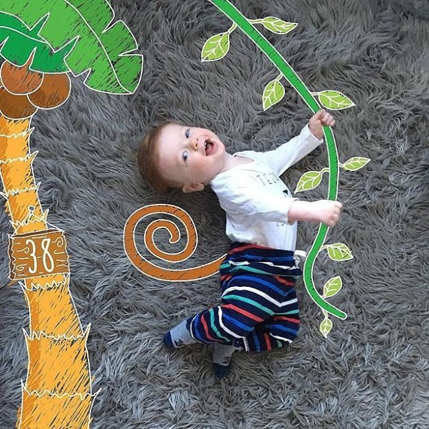 фотопроект с ребенком