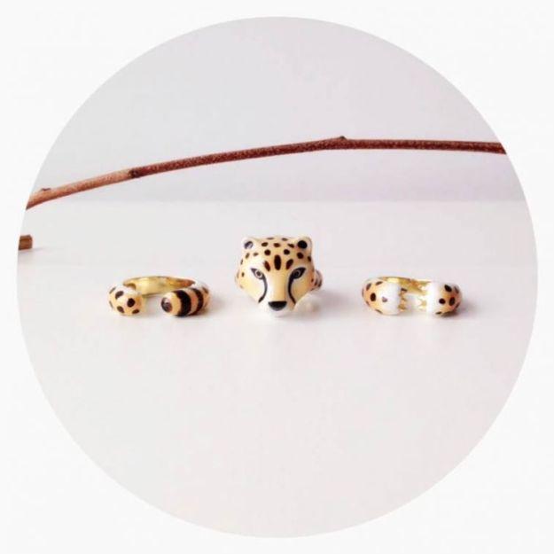 кольцо гепард2