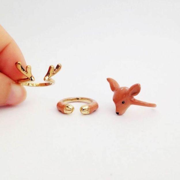 кольцо с оленем2
