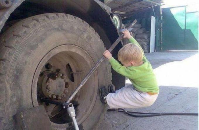 мальчик как отец