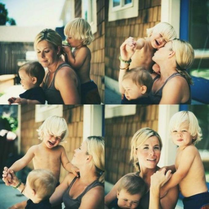 мама с мальчиками