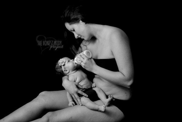 тело после беременности