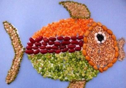 Великолепные картины из круп, которые украсят вашу кухню