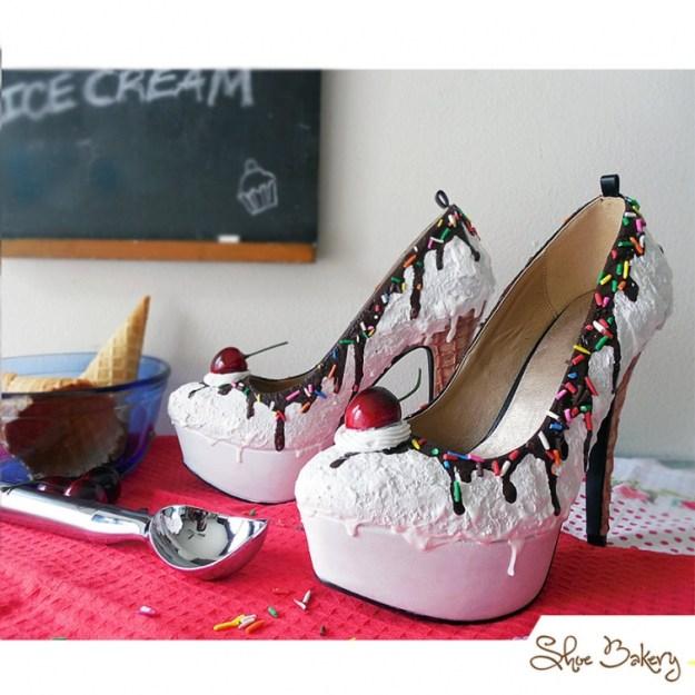 обувь на десерт