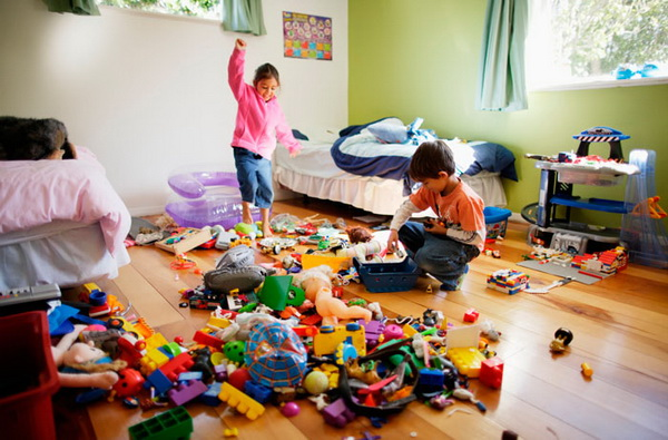 идеи для хранения игрушек