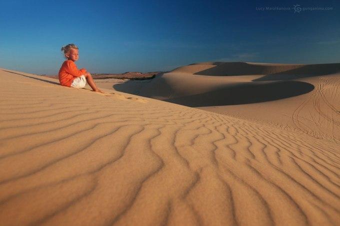 песчанные дюны Азии